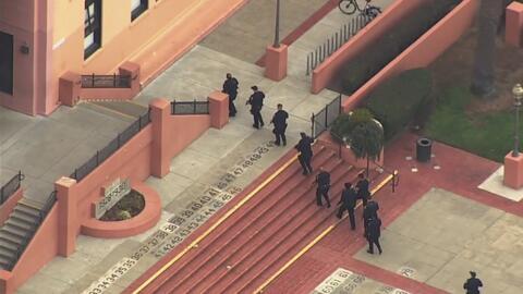 Cuatro detenidos en una preparatoria de San Francisco por reporte de persona armada