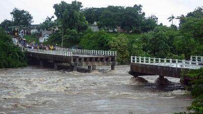 Las fuertes lluvias causadas por la tormenta Alberto dejan estragos en gran parte de Cuba