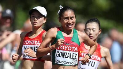 Día triste: La mexicana Lupita González fue suspendida cuatro años por dopaje