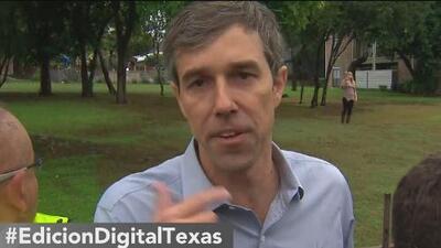 Beto O'Rourke visita San Antonio en su búsqueda por el voto hispano