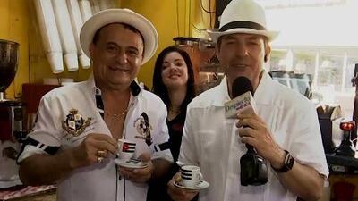 Carlos Calderón cambió el mojito por un buen cafecito cubano