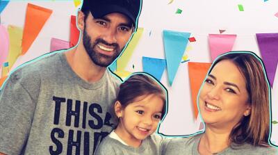 Ni una, ni dos, fueron tres las fiestas de cumpleaños de Alaïa, la hija de Toni Costa y Adamari López