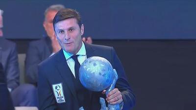 Javier Zanetti, el gran capitán argentino, clase 2019 del Salón de la Fama