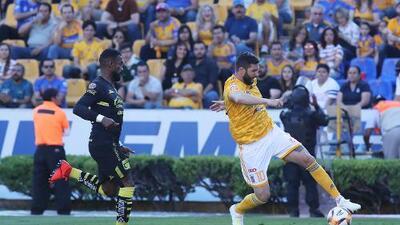 Casi dos meses después, Gignac reapareció con Tigres
