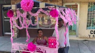 Viral video allowed street vendor to give his daughter a quinceañera celebration