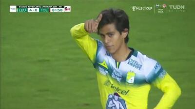 ¡GOOOL! José Macías anota para León