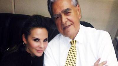 """Así reaccionó Eric del Castillo a las fotos íntimas de su hija Kate: """"Se veía guapa, si yo la hice"""""""