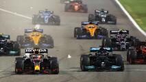 'Checo' Pérez remonta 15 posiciones, pero Hamilton gana Bahrein
