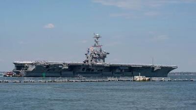 Estos buques de guerra salieron a reforzar la respuesta estadounidense a Siria