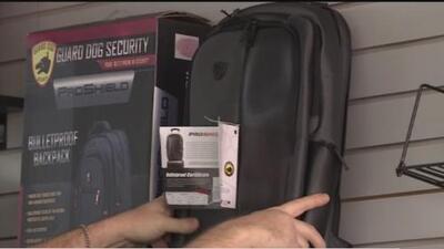 Se dispara la venta de mochilas antibalas
