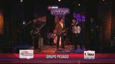 Grupo Pesado en vivo en el Show de Raul Brindis