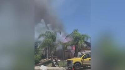 Explosión en una vivienda de la ciudad de Murrieta deja un muerto y más de una docena de heridos
