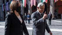 Kamala Harris le dejó saber a AMLO su preocupación por la corrupción en México