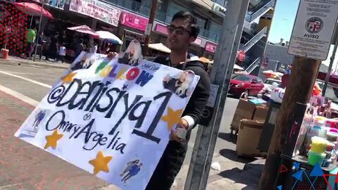 (VIDEO) El Masters tuvo que anunciar en las calles de Los Ángeles que Denise era la mejor como parte de su apuesta