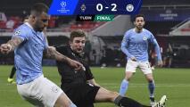Manchester City pone un pie en Cuartos a costa del M'Gladbach