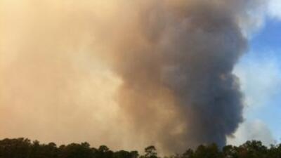 Nuevos incendios en Condado de Montgomery