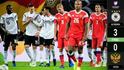 Debuta con Rusia su primer jugador afrodescendiente en amistoso contra Alemania