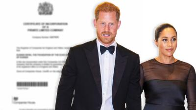 Tras separarse de William y Kate, Meghan y Harry estrenan fundación con un nombre familiar