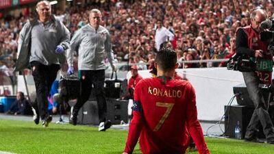 ¡El 'Comandante' es baja! Alerta en Portugal y Turín tras la lesión de Cristiano Ronaldo