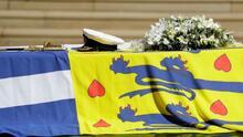 Las fotos más emotivas: así fue el último adiós al príncipe Felipe, esposo de la Reina Isabel II