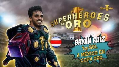 Superhéroes de Oro: Bryan Ruíz anota desde los once pasos ante México