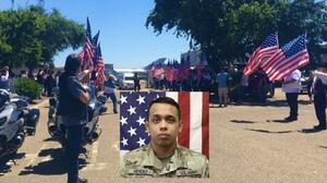 Restos de soldado hispano muerto en Irak llegan al Valle Central luego de dos meses debido al coronavirus