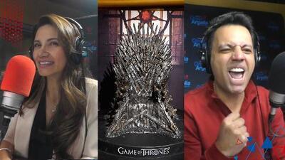 Omar quiere que Argelia vea todas las temporadas de Game of Thrones