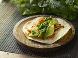 Tacos de coliflor al chipotle