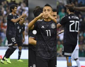 México se impone a Panamá 3-1 en la Liga de Naciones de la Concacaf