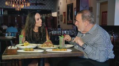 El Gordo se emociona por conocer más sobre la comida mexicana en el nuevo reality que conduce Inés Gómez Mont