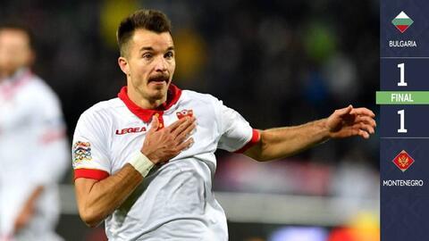 Bulgaria 1-1 Montenegro - GOLES Y RESUMEN - ELIMINATORIAS  - Eurocopa 2020