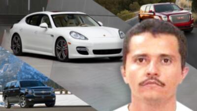 La colección de carros de 'El Mencho', el sucesor de 'El Chapo' Guzmán