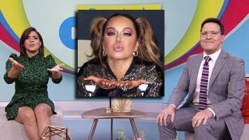"""Francisca Lachapel agradeció el mensaje de Chiquis Rivera y otras famosas por su embarazo: """"Me siento muy querida"""""""