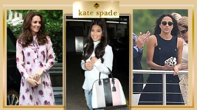 Desde Meghan Markle hasta JLo, las famosas presumieron las creaciones de Kate Spade