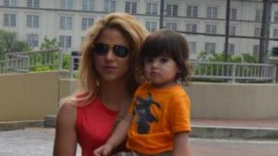 El hijo de Shakira y Gerard Piqué cumple dos años