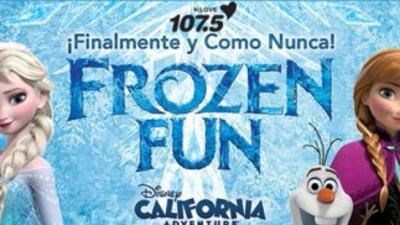 Gana boletos - Frozen Fun en Disney California Adventure