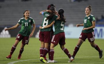 En fotos: México hace historia y vence a Canadá en Semifinales del Mundial Femenino Sub 17