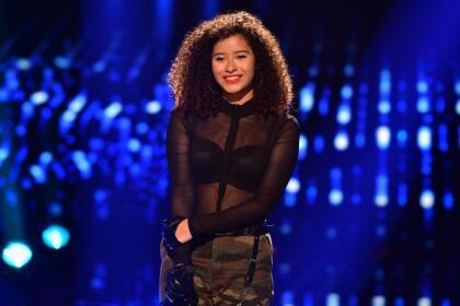 Esta ecuatoriana de 18 años se lució interpretando el tema 'Calle me maybe' de Carly Rae Jepsen.