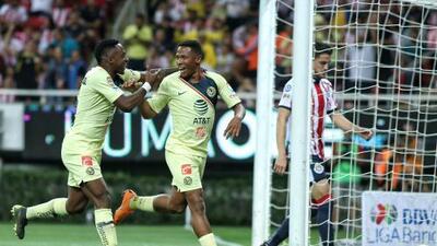 América celebra 300 goles en el Clásico Nacional