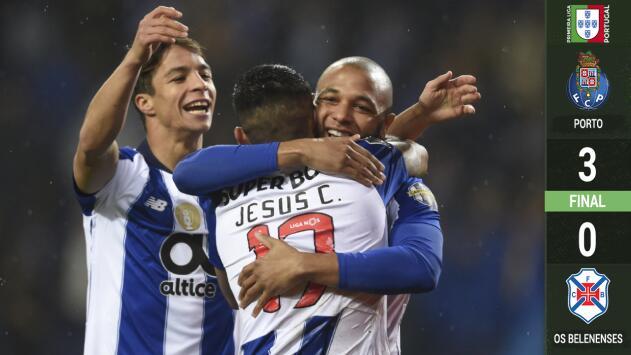 'Tecatito' Corona dio asistencia en el triunfo del Porto frente a Belenenses