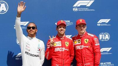 Sebastian Vettel logra para Ferrari la pole position del GP de Canadá