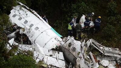 Informe final sobre el accidente del avión de LaMia confirma la falta de combustible como causa de la tragedia