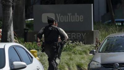 Una atacante hiere de bala a 3 personas antes de suicidarse en las oficinas de YouTube en California