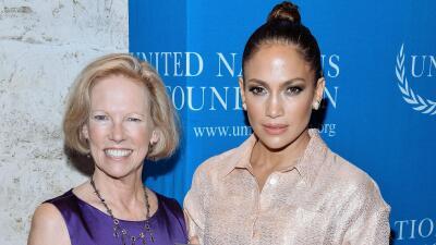 ONU nombra a Jennifer Lopez como defensora de niñas y mujeres