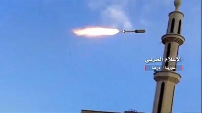 En video: Se intensifican los ataques con misiles del gobierno sirio en zonas rebeldes
