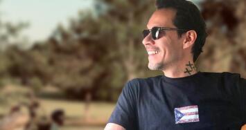 Como nunca antes, Marc Anthony nos presume a su razón para sonreír y a la que baña de besos