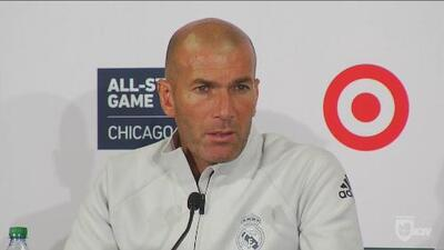 Zinedine Zidane se va contento con la gira por USA, a pesar de que sus delanteros no anotaran