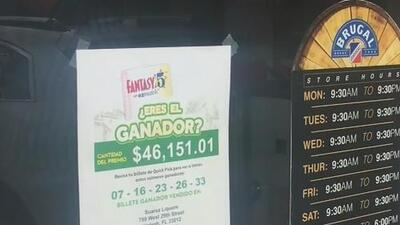 Buscan al ganador de un boleto de 46,151 dólares del 'Fantasy Five' en Hialeah