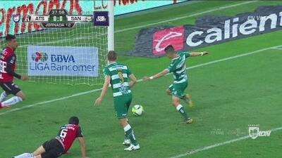 ¿Qué le pasó a Santos? Tenía el gol de la ventaja y no encontró portería