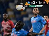 Napoli es eliminado de la Europa League sin la presencia del 'Chucky' Lozano